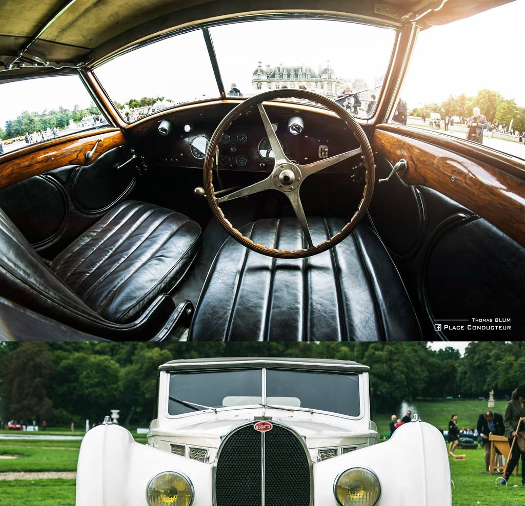 1937 Bugatti Type 57 S Cabriolet Vanvooren