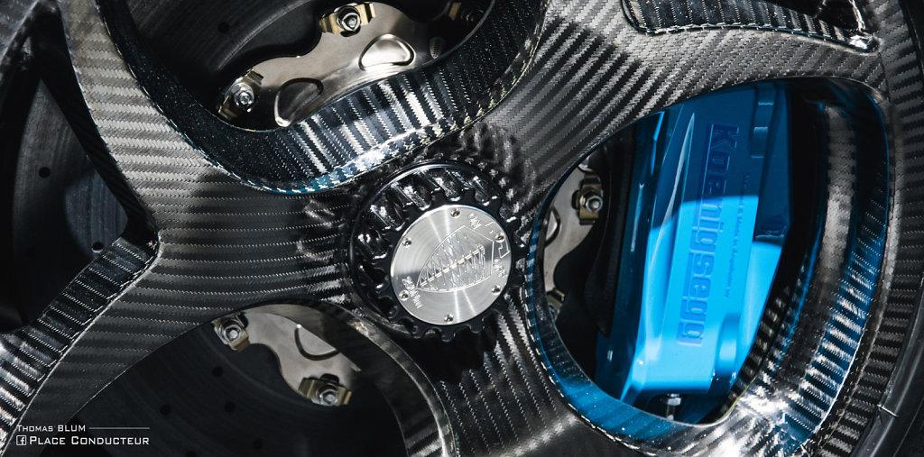 Koenigsegg (blue) Detail