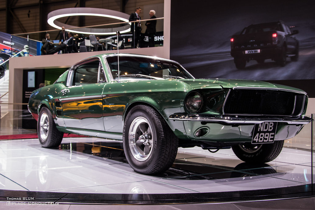 Ford Mustang Fastback 67' Bullit