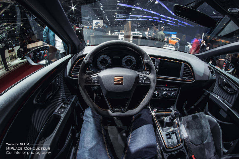 seat leon cupra st r - place conducteur
